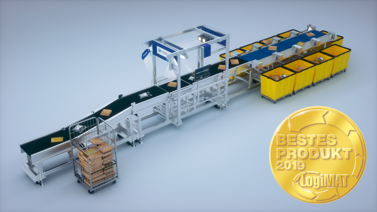 Vitronic : Award Winners at Logimat 2019