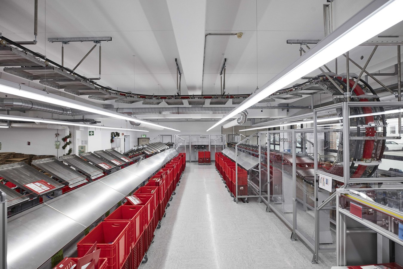 Swiss precision enables a highly-efficient sorting process