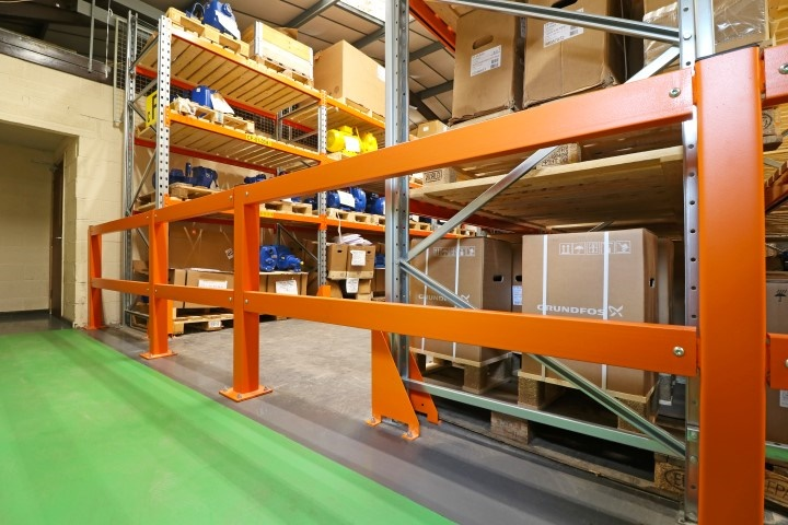 AMHSA Member SEC Storage Intelligent Racking Design and Installation